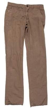 Burberry Linen-Blend Pants