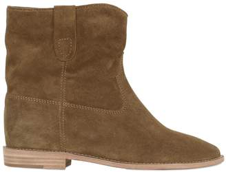 Isabel Marant 70mm Crisi Suede Wedges Boots