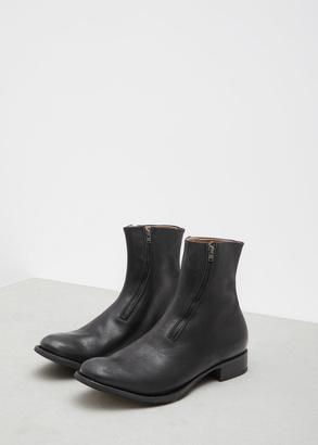 Yohji Yamamoto black front zip boots $1,920 thestylecure.com