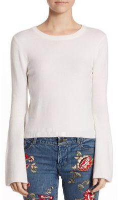 Alice + Olivia Parson Crewneck Sweater $295 thestylecure.com