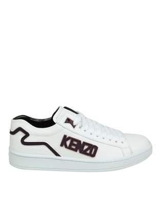 Kenzo Tennix Sneakers Leather White