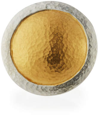 Gurhan Amulet Two-Tone Round Ring, Size 6.5