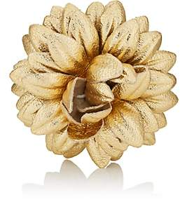 Dahlia Fleur'd Men's Lapel Flower - Gold