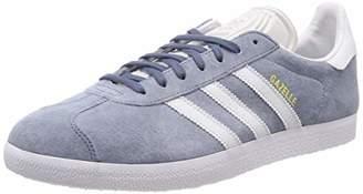 competitive price 4c560 9b52a adidas Mens Gazelle Gymnastics Shoes, Grey Raw Steel S18Crystal FTWR White