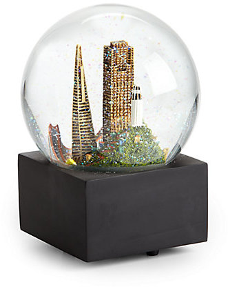 Signature Saks San Francisco Snow Globe