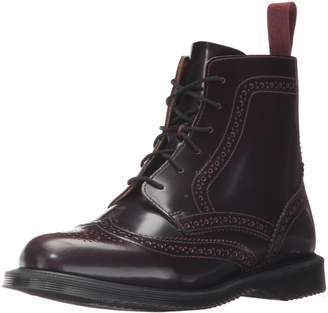 Dr. Martens Women's Delphine Red Arcadia Ankle Boot