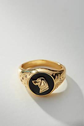Anthropologie Sweet Creatures Signet Ring