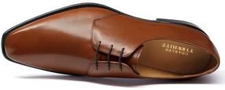 Charles Tyrwhitt Tan Soho Derby Shoes Size 9