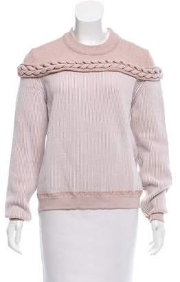 Sonia Rykiel Striped Wool-Blend Sweater