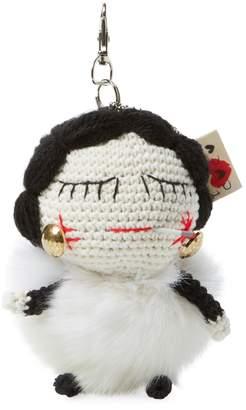 Mua Mua Dolls Women's Coco Fur Key Chain