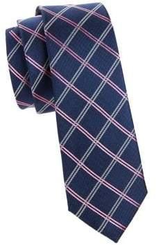 Lauren Ralph Lauren Boy's Lattice Grid Silk Tie
