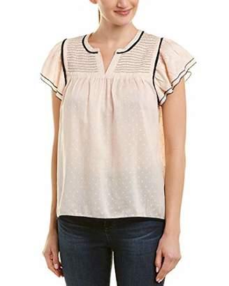 Ella Moss Women's Flutter Sleeve Top