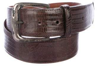 Polo Ralph Lauren Lizard Waist Belt