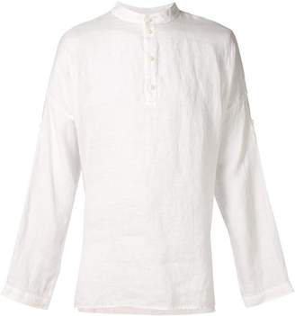 Isabel Benenato button collar shirt