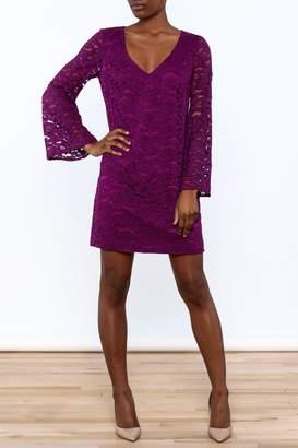 Trina Turk Purple Revue Dress