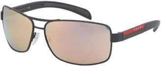 Prada Sport SPS 541 Reflective Navigator Sunglasses