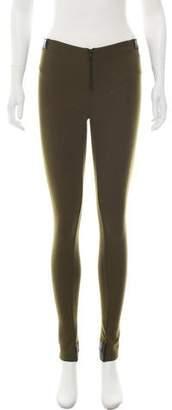 Alice + Olivia Mid-Rise Skinny Leggings