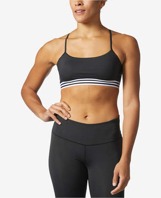 adidas ClimaLite Cross-Back Low-Support Compression Sports Bra