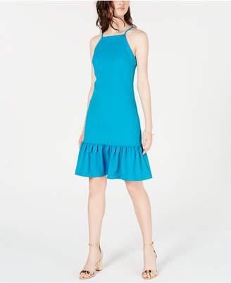 Trina Turk Trina Ruffled Drop-Waist Dress