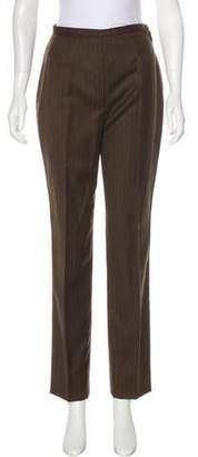 Philosophy di Alberta Ferretti High-Rise Straight-Leg Pants