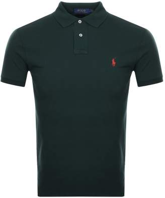 Ralph Lauren Slim Fit Polo T Shirt Green