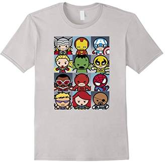 Marvel Kawaii Heroes Graphic T-Shirt