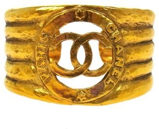 CC Logos Gold Tone Bangle