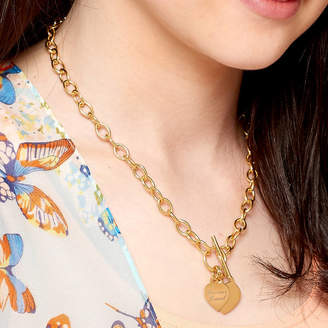 Charm & Chain Hurleyburley Personalised 18ct Gold Charm Chain Necklace