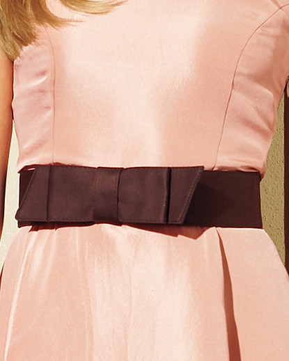 Sateen Bow Belt