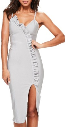 Women's Missguided Ruffle Body-Con Dress $82 thestylecure.com