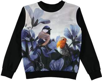 Molo Regine Birds Top