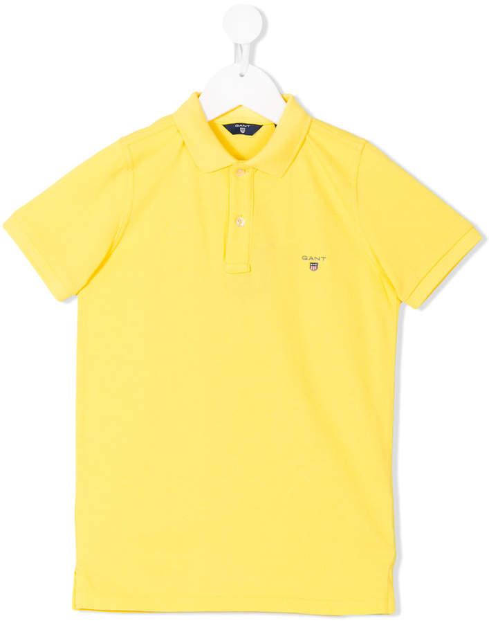 Gant Kids short sleeve polo shirt