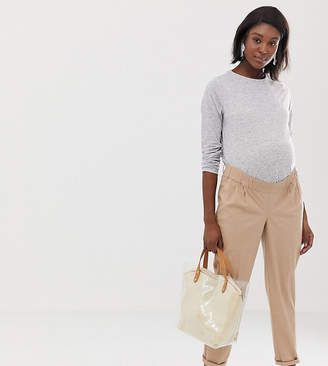 Asos DESIGN Maternity chino pants with under bump waistband