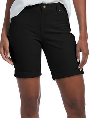 Hue Essential Denim Tapered Shorts