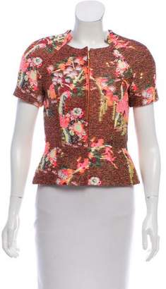 Matthew Williamson Patterned Short Sleeve Jacket