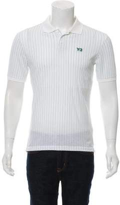 Y-3 Striped Polo Shirt