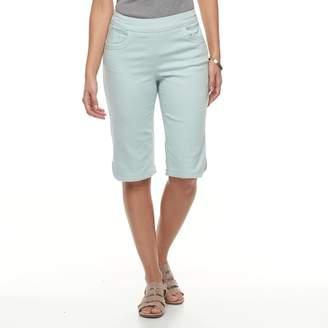 Briggs Women's Scallop-Hem Skimmer Shorts