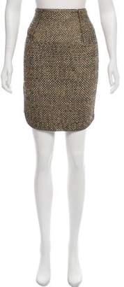 Lanvin Metallic Knee-Length Skirt