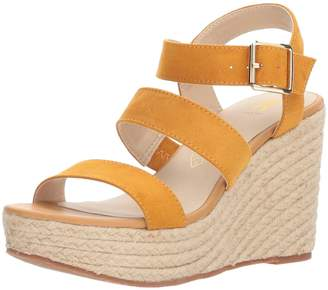 BC Footwear Women's Snack Bar Wedge Sandal