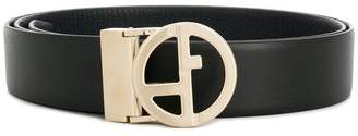 Giorgio Armani two piece logo belt