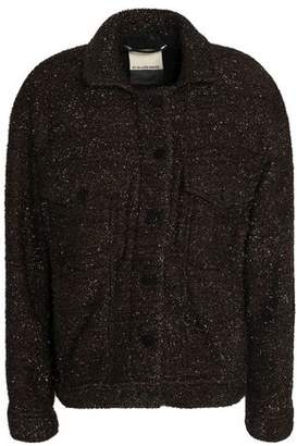 By Malene Birger Metallic Fil Coupé Coat