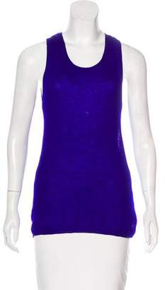 Denis Colomb Sleeveless Cashmere Top