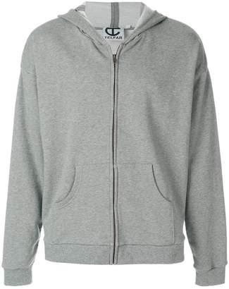 Telfar zip hoodie