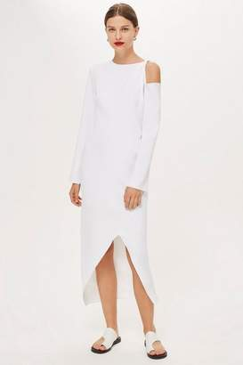 Topshop **Twist Sleeve Dress by Boutique
