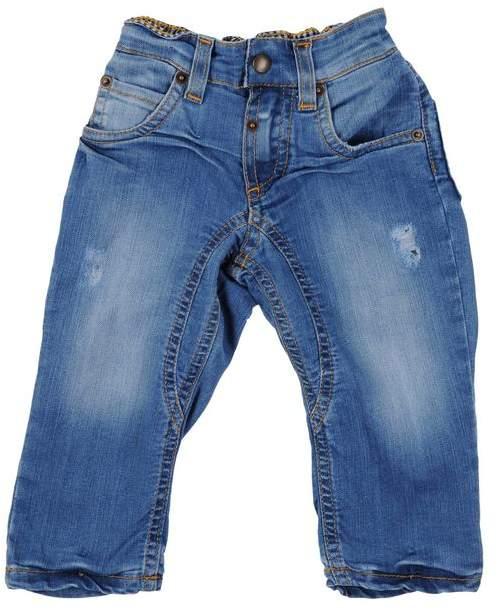 MONNALISA NY & LON Denim trousers