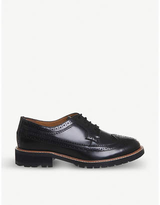 Office Flag leather brogues