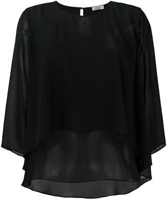 Liu Jo layered flared blouse