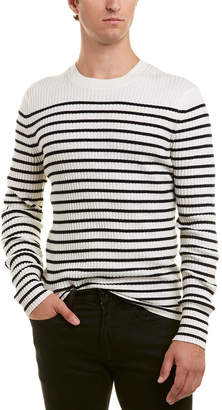 Vince Striped Cashmere Crew Sweater