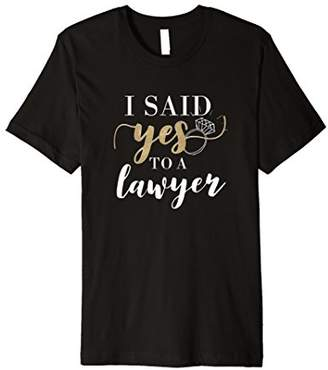 I Said Yes Novelty T-Shirt for Women