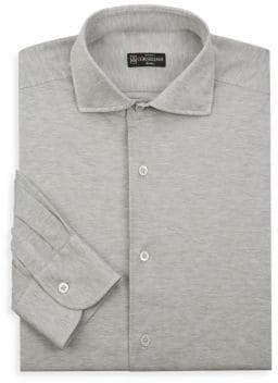 Corneliani Oxford Cotton Dress Shirt